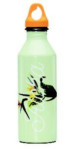 Groene reisgadgets: Hervulbare drinkfles van Mizu.