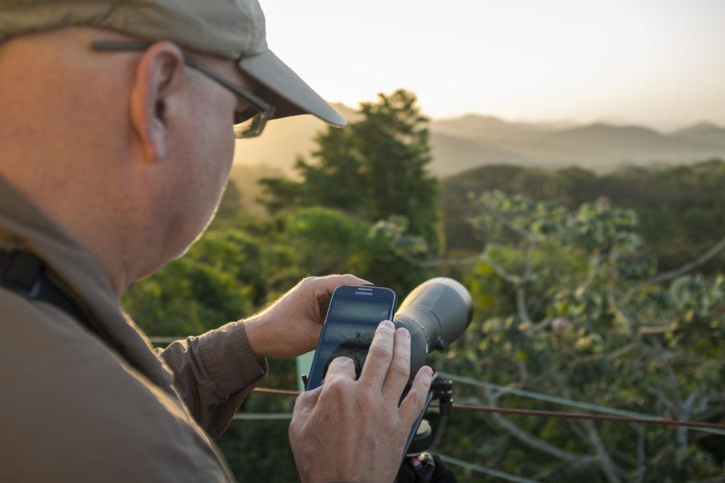 Vogelaar Panama telescoop fotografie